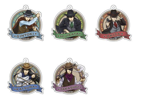 TVアニメ「銀魂」 アクリルキーホルダーコレクション〈西部劇Ver.〉 5個入りBOX[メディコス・エンタテインメント]《発売済・在庫品》