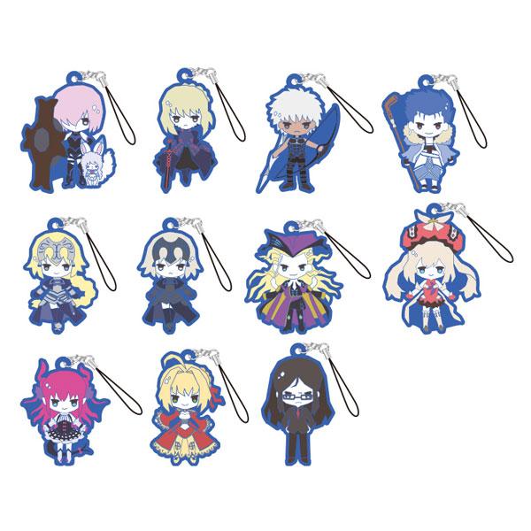 Fate/Grand Order Design produced by Sanrio トレーディングラバーストラップ 11個入りBOX[カミオジャパン]《在庫切れ》