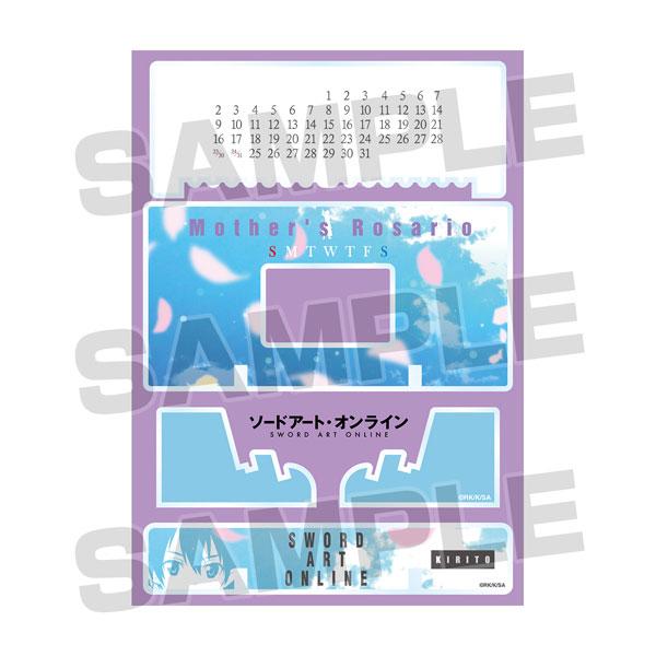 ソードアート・オンライン 卓上アクリル万年カレンダー Vol.2[アルマビアンカ]《04月予約》
