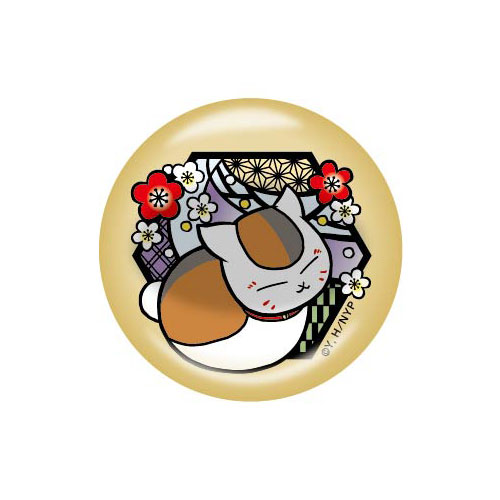 夏目友人帳 切り絵シリーズ 箸置き ニャンコ先生D 紅白梅[タカラトミーアーツ]《在庫切れ》