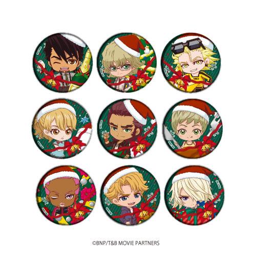 缶バッジ「劇場版 TIGER & BUNNY -The Rising-」03/クリスマスver. ミニキャラ 9個入りBOX[A3]《在庫切れ》