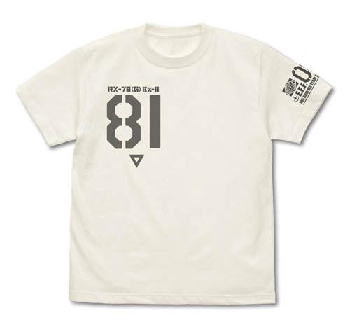 機動戦士ガンダム第08MS小隊 第08MS小隊 Ez-8 Tシャツ/VANILLA WHITE-M(再販)[コスパ]《06月予約》