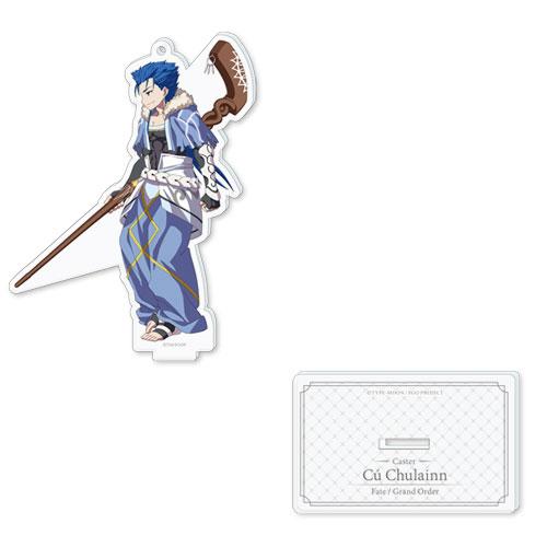 Fate/Grand Order バトルキャラ風アクリルスタンド(キャスター/クー・フーリン)(再販)[ディライトワークス]《在庫切れ》