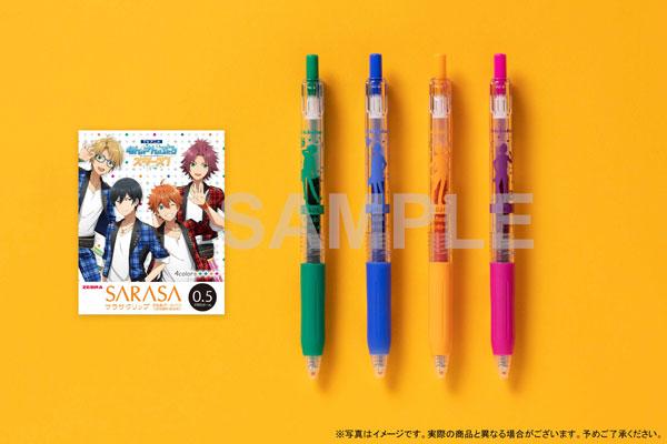 TVアニメ『あんさんぶるスターズ!』サラサクリップ カラーボールペン 4本セット 〈Trickstar〉[KADOKAWA]《在庫切れ》
