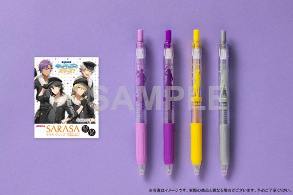 TVアニメ『あんさんぶるスターズ!』サラサクリップ カラーボールペン 4本セット 〈UNDEAD〉[KADOKAWA]《在庫切れ》
