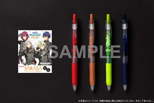 TVアニメ『あんさんぶるスターズ!』サラサクリップ カラーボールペン 4本セット 〈Eden〉[KADOKAWA]《在庫切れ》