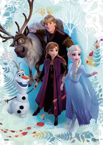 パズルデコレーション アナと雪の女王2 Frozen Journey(フローズン・ジャーニー) 500ピース (74-012)[エポック]《発売済・在庫品》