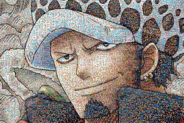 ジグソーパズル ワンピースモザイクアート ロー 1000ピース(1000-584)[エンスカイ]《発売済・在庫品》