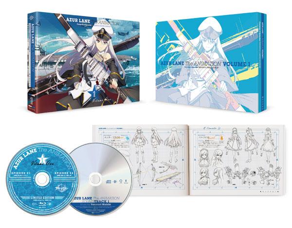 BD アズールレーン Vol.1 Blu-ray 初回生産限定版