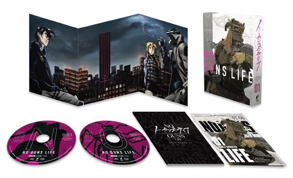 【特典】BD ノー・ガンズ・ライフ Blu-ray BOX 1 初回生産限定[ソニー・ピクチャーズ]《在庫切れ》