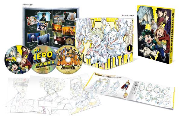 BD 僕のヒーローアカデミア 4th Vol.1 Blu-ray 初回生産限定版[東宝]《取り寄せ※暫定》