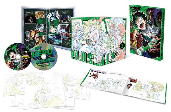 BD 僕のヒーローアカデミア 4th Vol.3 Blu-ray 初回生産限定版[東宝]《在庫切れ》