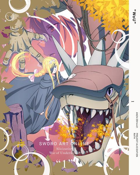 【特典】BD ソードアート・オンライン アリシゼーション War of Underworld 1 完全生産限定版 (Blu-ray Disc)[アニプレックス]《在庫切れ》
