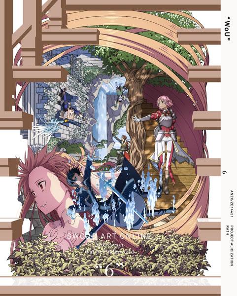 BD ソードアート・オンライン アリシゼーション War of Underworld 6 完全生産限定版 (Blu-ray Disc)[アニプレックス]《在庫切れ》