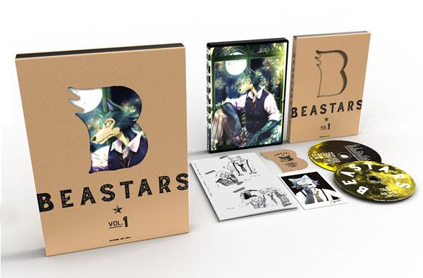 【特典】BD BEASTARS Vol.1 初回生産限定版 (Blu-ray Disc)[東宝]《発売済・在庫品》