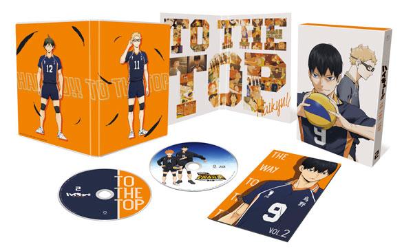 DVD ハイキュー!! TO THE TOP Vol.2 初回生産限定版[東宝]《在庫切れ》