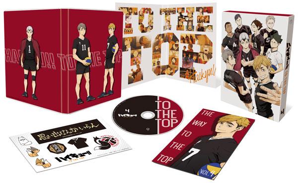 DVD ハイキュー!! TO THE TOP Vol.4 初回生産限定版[東宝]《在庫切れ》