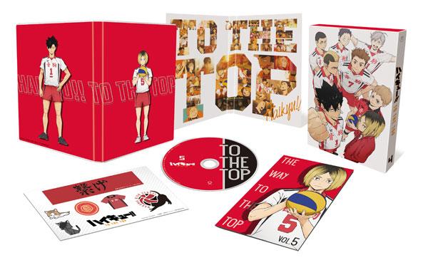 DVD ハイキュー!! TO THE TOP Vol.5 初回生産限定版[東宝]《在庫切れ》