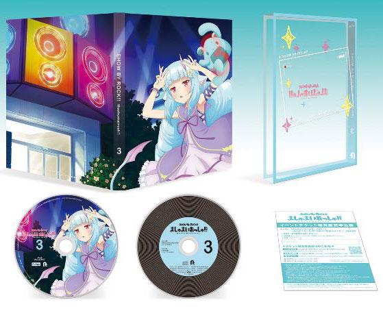 BD TVアニメ SHOW BY ROCK!!ましゅまいれっしゅ!! Blu-ray 第3巻[フリュー]《在庫切れ》