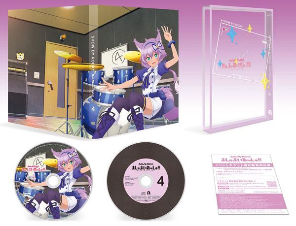 DVD TVアニメ SHOW BY ROCK!!ましゅまいれっしゅ!! 第4巻[フリュー]《06月予約》