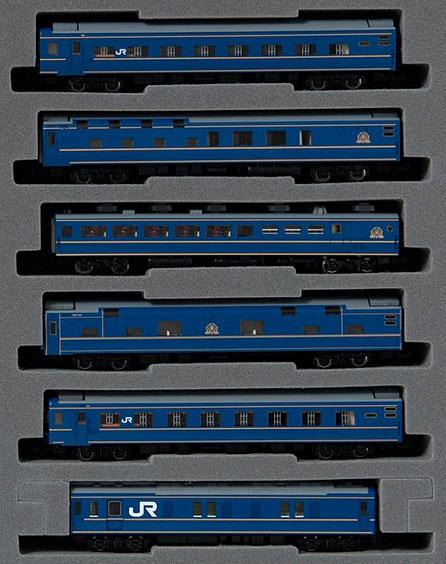 98676 JR 24系25形特急寝台客車(北斗星1・2号)基本セット(6両)[TOMIX]【送料無料】《発売済・在庫品》