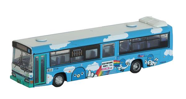 ザ・バスコレクション 千葉交通うなりくんラッピングバス[トミーテック]《発売済・在庫品》