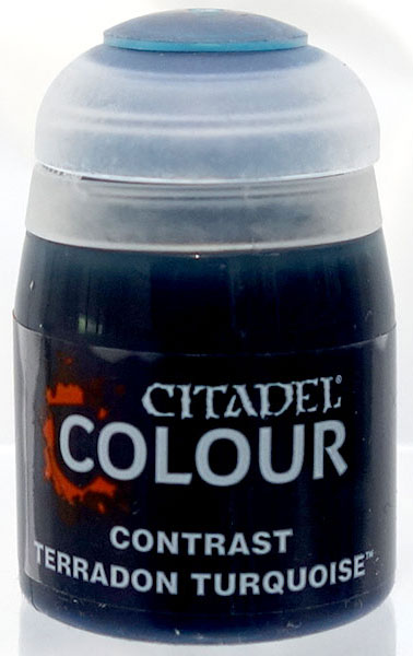 29-43 シタデルカラー CONTRAST: TERRADON TURQUOISE (18ML)[Games Workshop]《発売済・在庫品》