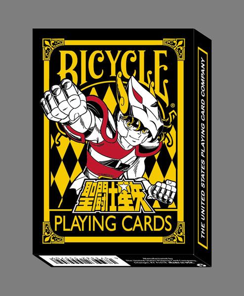 聖闘士星矢 BICYCLE トランプ[Brujula]《在庫切れ》