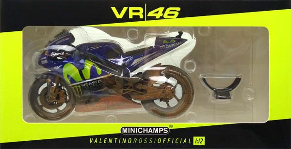 """1/12 ヤマハ YZR-M1""""MOVISTAR YAMAHA MOTOGP""""V・ロッシ マレーシアGP モトGP 2017[ミニチャンプス]《在庫切れ》"""