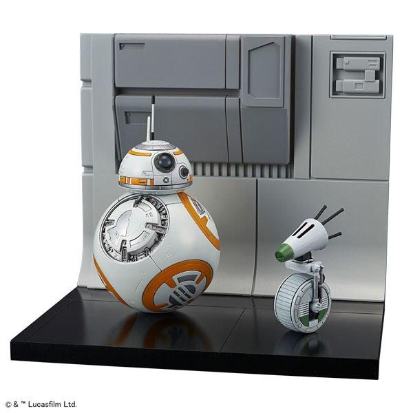 1/12 BB-8&D-O ジオラマセット プラモデル[BANDAI SPIRITS]《11月予約》