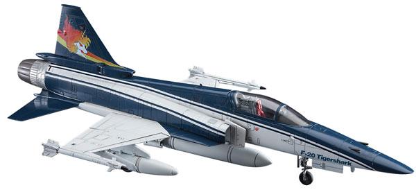 """1/48 「エリア88」F-20 タイガーシャーク """"風間真"""" プラモデル[ハセガワ]《在庫切れ》"""