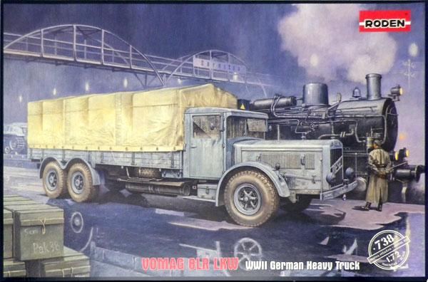 1/72 独フォマーグ10ton重軍用トラック8 LR Lkw プラモデル[ローデン]《在庫切れ》