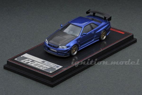 1/64 Nismo R34 GT-R Z-tune Blue Metallic[イグニッションモデル]《発売済・在庫品》
