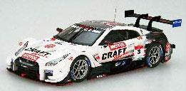1/43 CRAFTSPORTS MOTUL GT-R SUPER GT GT500 2019 No.3[EBBRO]《在庫切れ》