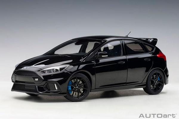 1/18 フォード フォーカス RS (ブラック)[オートアート]【送料無料】《発売済・在庫品》