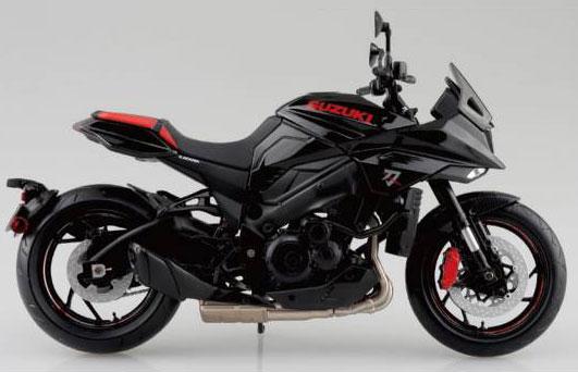 1/12 完成品バイク SUZUKI GSX-S1000S KATANA フルオプション グラススパークルブラック[スカイネット]《在庫切れ》