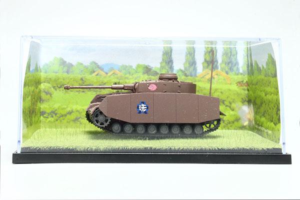 ガールズ&パンツァー 1/72 てのひら戦車道コレクション IV号戦車H型(D型改) あんこうチーム ボカージュの戦いです![プラッツ]《在庫切れ》