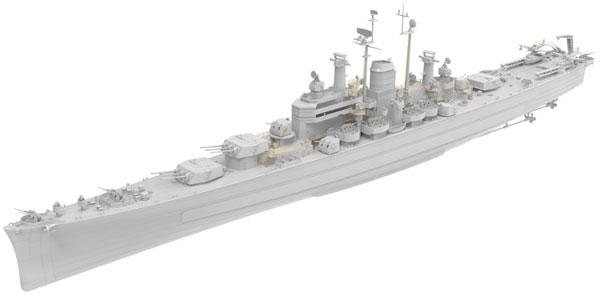 1/350 米海軍重巡洋艦 USS デモイン CA-134 プラモデル[Very Fire ...
