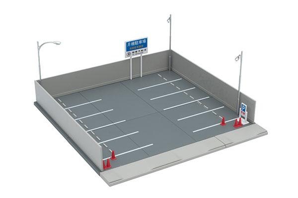 トミカラマ ヴィンテージ 03b 月極駐車場[トミーテック]《在庫切れ》