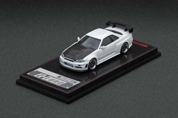 1/64 Nismo R34 GT-R Z-tune White[イグニッションモデル]《発売済・在庫品》