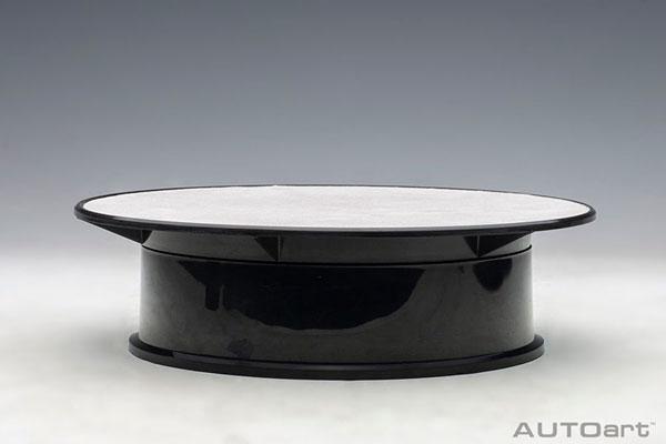 ロータリー ディスプレイ スタンド ・ スモール 直径20cm (シルバー)(再販)[オートアート]《在庫切れ》