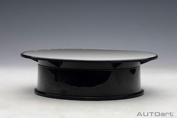 ロータリー ディスプレイ スタンド ・ スモール 直径20cm (ミラー)(再販)[オートアート]《在庫切れ》