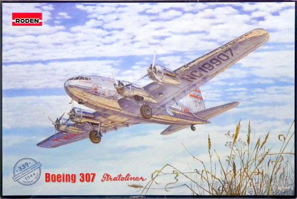1/144 米ボーイング307ストラトライナー与圧旅客機・トランスワールド航空 プラモデル[ローデン]《在庫切れ》