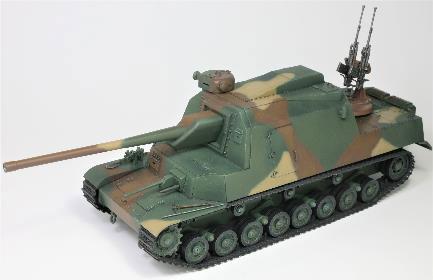 1/35 日本陸軍 試製五式砲戦車 [ホリII] プラモデル[アミュージングホビー]《01月仮予約》