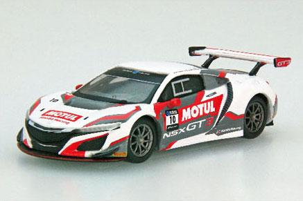 1/64 Honda Team Motul NSX GT3 SUZUKA 10 HOURS 2018 No.10[EBBRO]《在庫切れ》