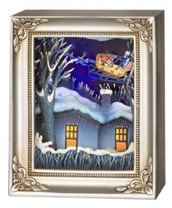 ナイトメアー・ビフォア・クリスマス 額縁型スタチュー カートン[エネスコ]《在庫切れ》