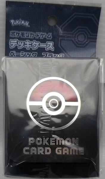 ポケモンカードゲーム デッキケース ベーシック ブラック[ポケモン]《発売済・在庫品》