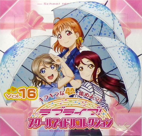 ラブライブ!スクールアイドルコレクション Vol.16 30パック入りBOX[ブシロード]《06月予約》