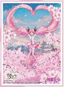 キャラクタースリーブ 初音ミク 桜ミク iXima(B) (EN-947) パック[エンスカイ]《発売済・在庫品》