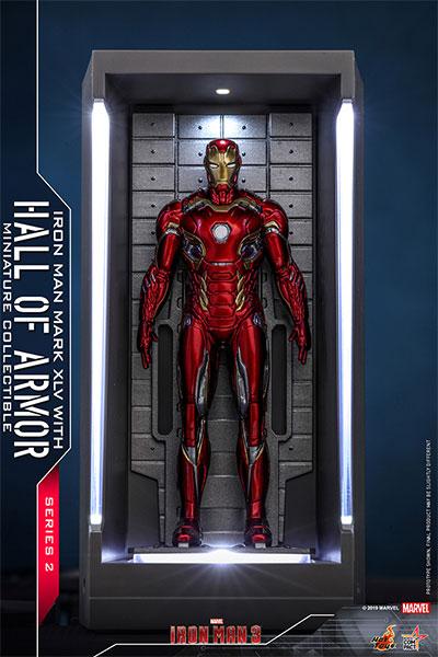 ムービー・マスターピース COMPACT 『アイアンマン3』 アイアンマン・マーク45(ホール・オブ・アーマー付き)[ホットトイズ]《06月仮予約》